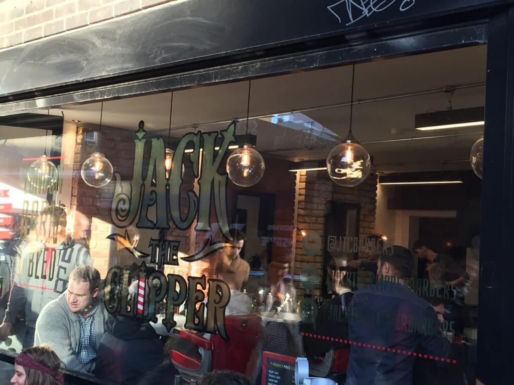 Jack the Clipper, coiffeur-barbier à Shoreditch