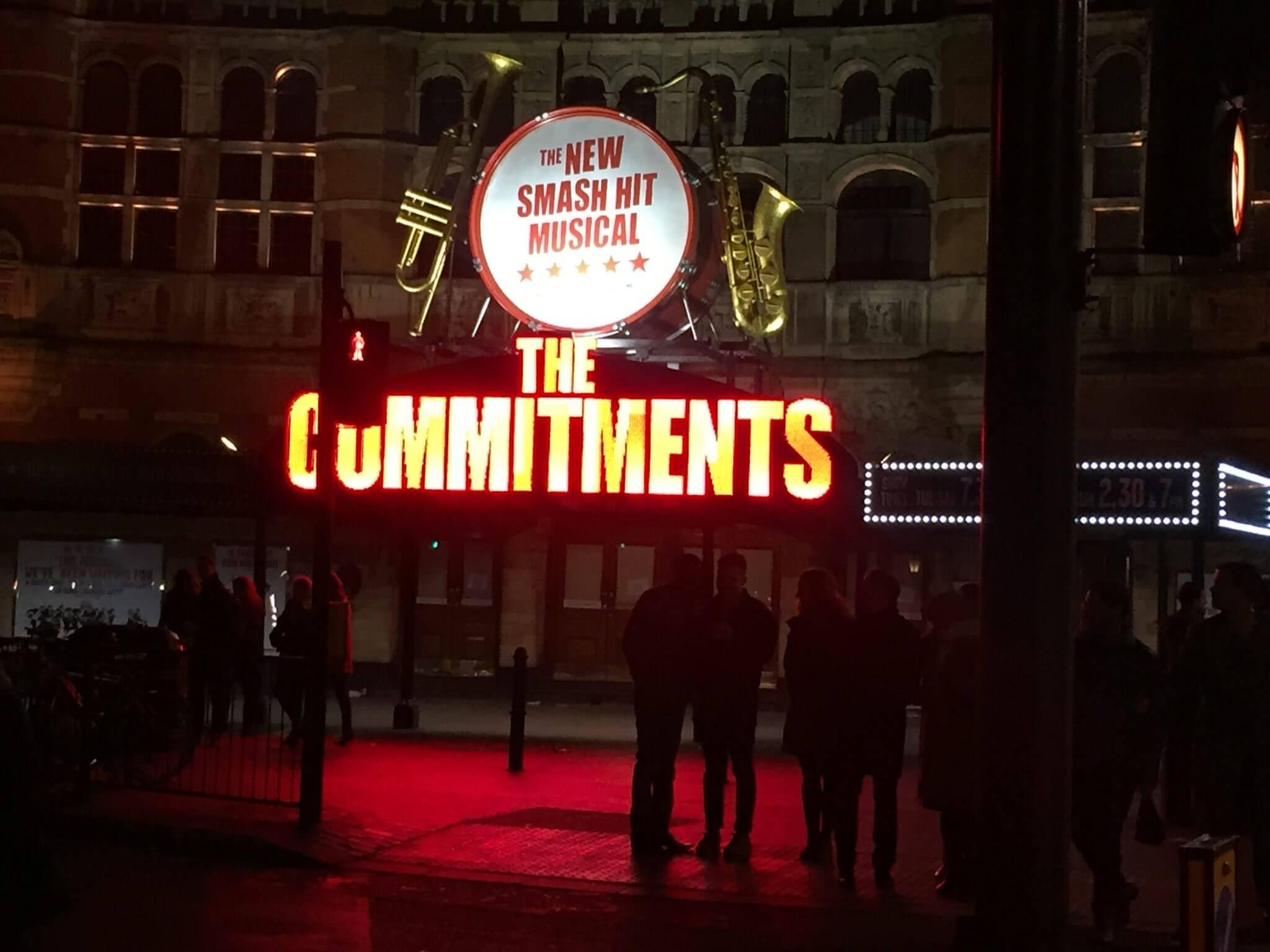 The Commitments : une comédie musicale drôle et enthousiasmante.