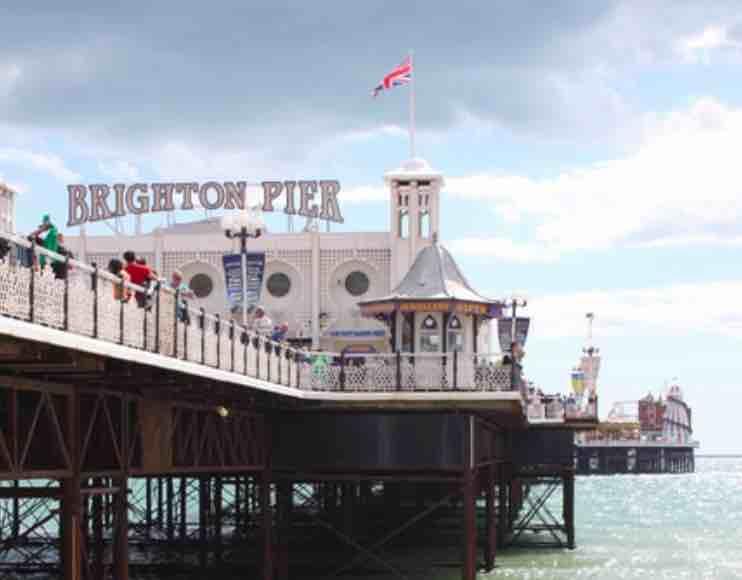 Brighton: plage, musées et attractions à une heure de Londres