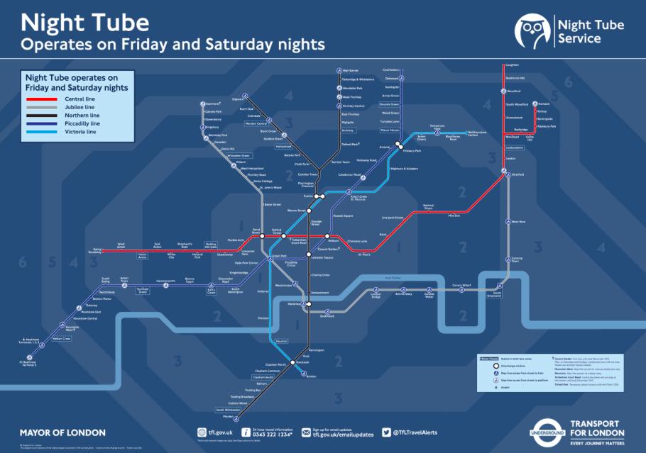 Le métro ouvert toute la nuit le week-end: c'est (enfin) parti!